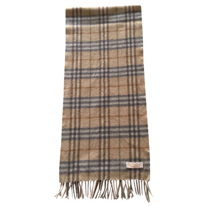 Burberry Cashmere Scarf in Beige