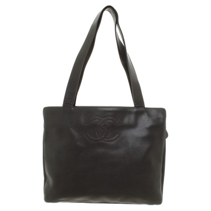 Chanel Gli amanti dello shopping in marrone scuro