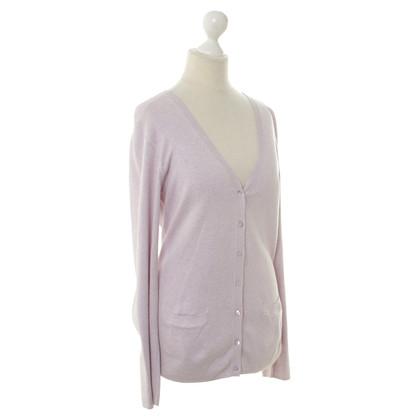Repeat Cashmere Vest in roze