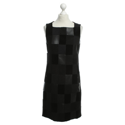Akris Patchwork dress in black
