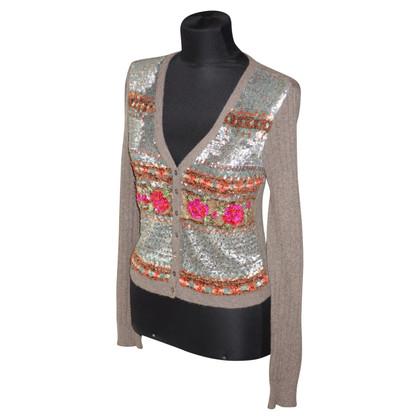 Blumarine Cardigan with sequins