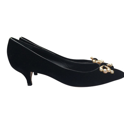 Moschino Cheap and Chic BLACK VELVET » DECOLLETE