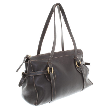 Hogan Handbag in dark brown