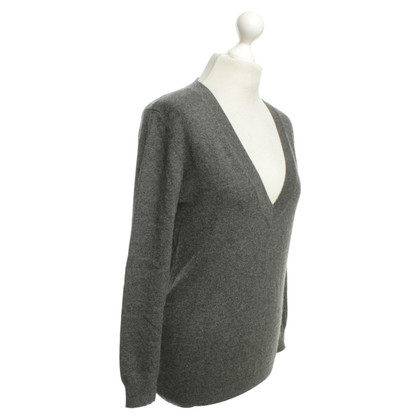 Allude Cashmere sweater in grey