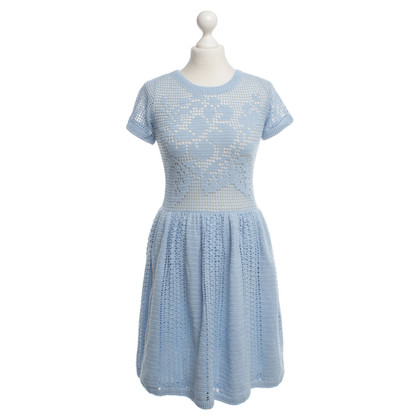 Manoush abito Crochet in blu