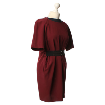 Victoria by Victoria Beckham Kleid in Bordeaux