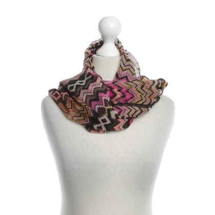 Missoni Kleurrijke zijden sjaal