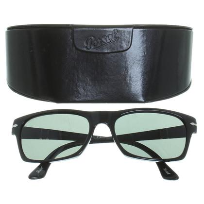 Persol Schwarze Sonnenbrille