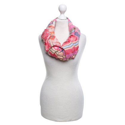 Kenzo Scarf with a floral pattern