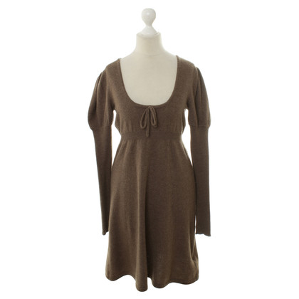 Antonia Zander Cashmere dress in Taupe