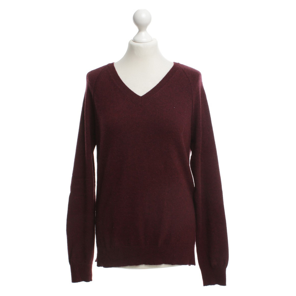 Closed Cashmere sweater in wine red - Buy Second hand Closed ...