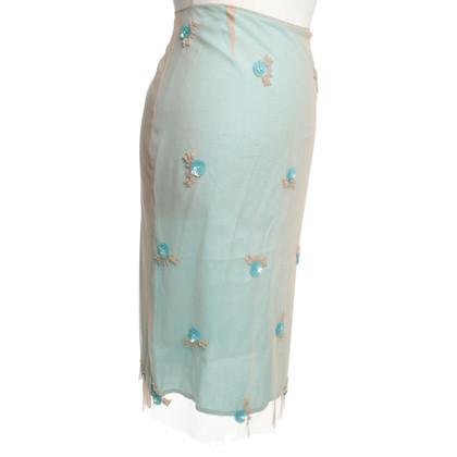 Day Birger & Mikkelsen skirt in turquoise