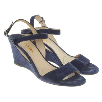 Prada Sandals in Blue