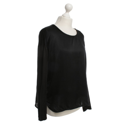 By Malene Birger Top in zwart