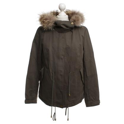 Andere Marke Jacke mit Pelz