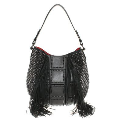 Louboutin Handbag With Rivets