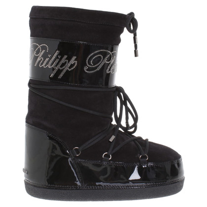 Philipp Plein Boots in Black
