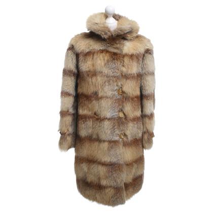 Hermès Mantel aus Fuchsfell