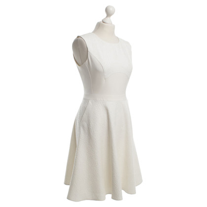 Reiss Kleid in Creme