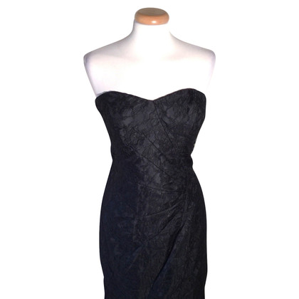 Versace Robe bandeau en noir