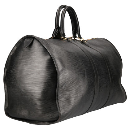 Louis Vuitton Keepall 45 Epi Leder Schwarz