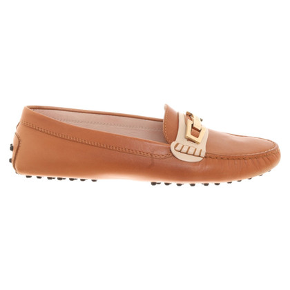 Tod's Leather slipper in brown