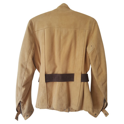 Belstaff Belstaff giacca di pelle scamosciata