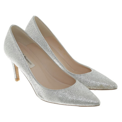 L.K. Bennett pumps with glitter