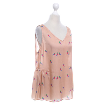 Marc Jacobs Silk top with animal motif