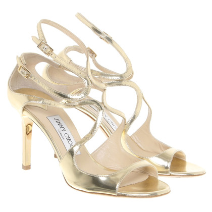 Jimmy Choo sandali color oro