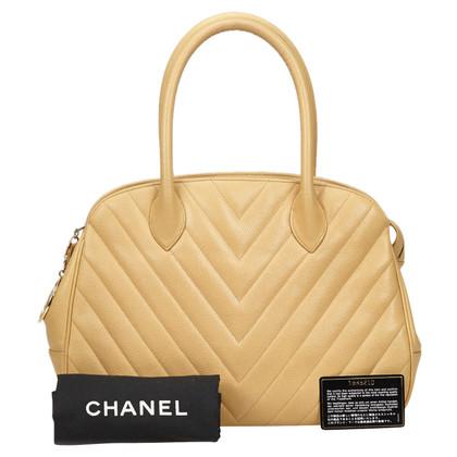 Chanel Handtasche mit Chevron-Muster