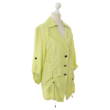 Laurèl Giacca in seta in giallo