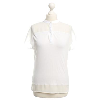 Karen Millen T-shirt in White