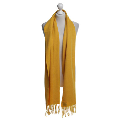 Hermès Scarf in yellow