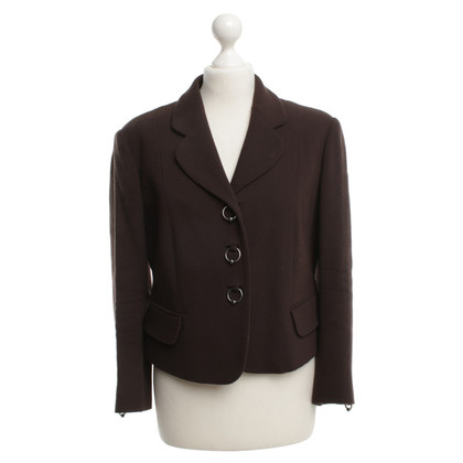 Moschino Cheap and Chic Blazers in Brown