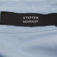 Steffen Schraut camicetta blu chiaro