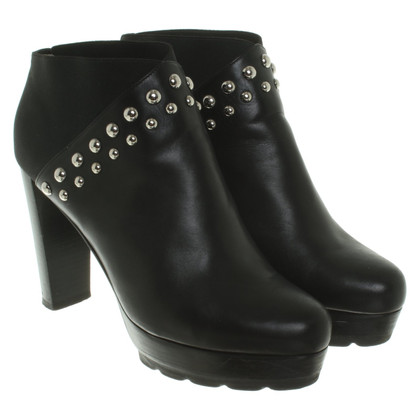 Walter Steiger Leather ankle boots