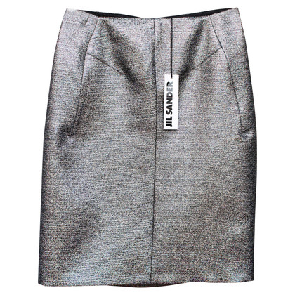 Jil Sander Metallic skirt