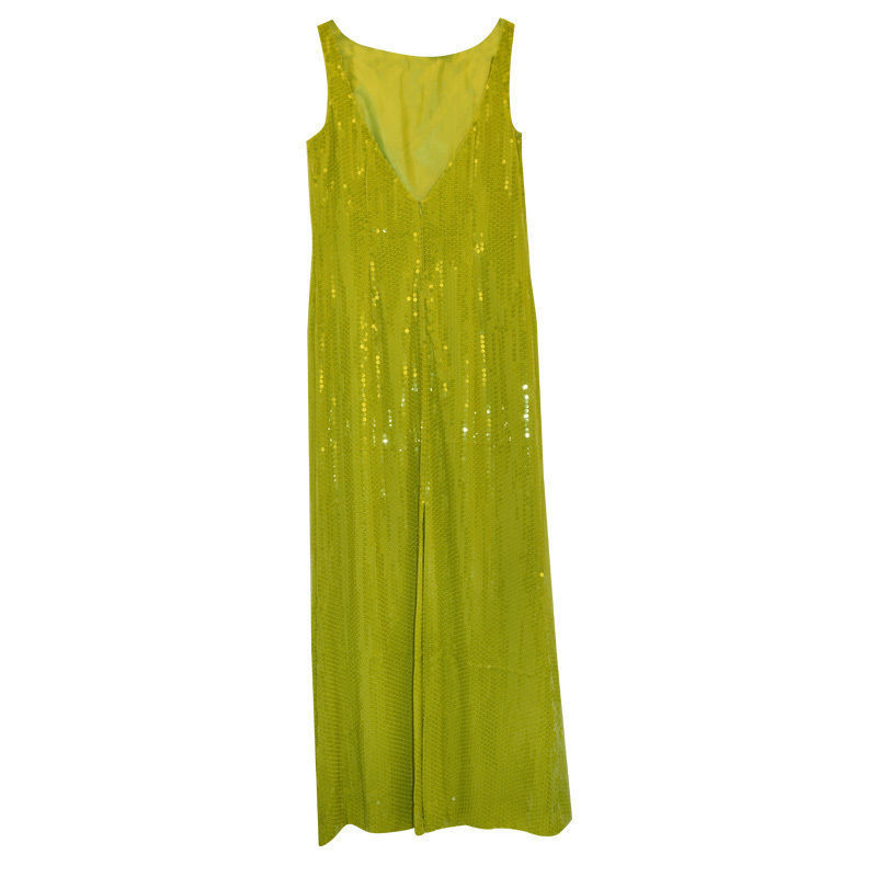 Moschino Cheap and Chic Dress with sequins in green