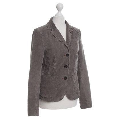 Blonde No8 Grey brown corduroy Blazer