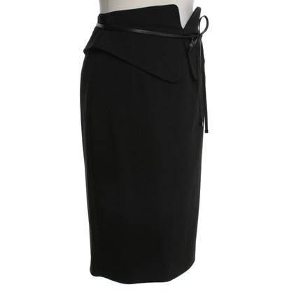 Gucci Pencil skirt in black