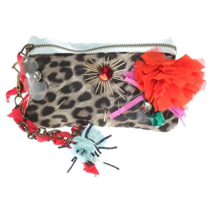 Lanvin for H&M clutch con le applicazioni