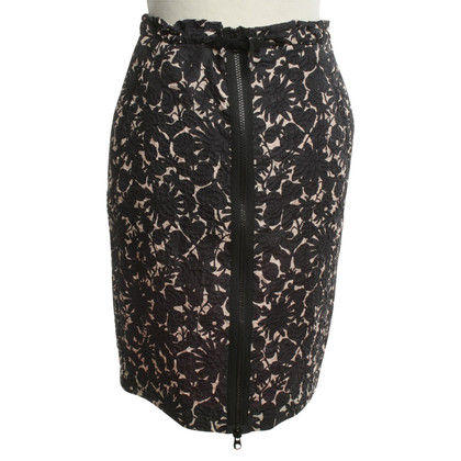 Escada skirt with floral pattern