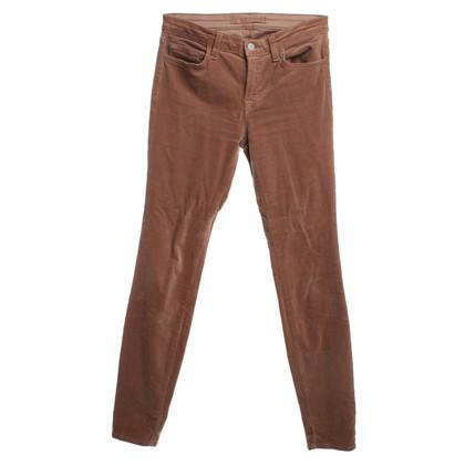 J Brand Pantaloni di velluto a coste fatti