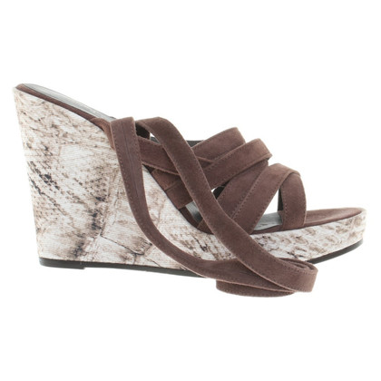 Marc Cain Sandals in brown