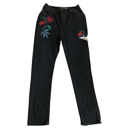 Sandro Jeans with embroidery