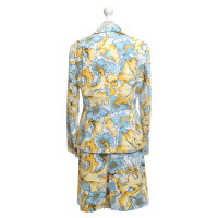 Escada Costume with a floral pattern