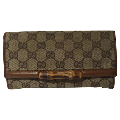 "Gucci Portefeuille ""Bamboe"""