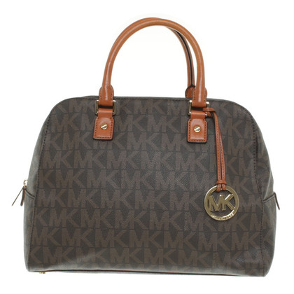"Michael Kors ""Jet Set Travel LG NS Satchel Brown"""