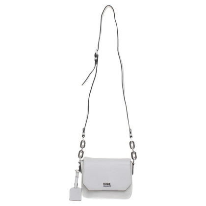Karl Lagerfeld Crossbody Bag in crèmewit